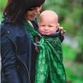 Porte bébé ring sling Spring Charm par Littlefrog