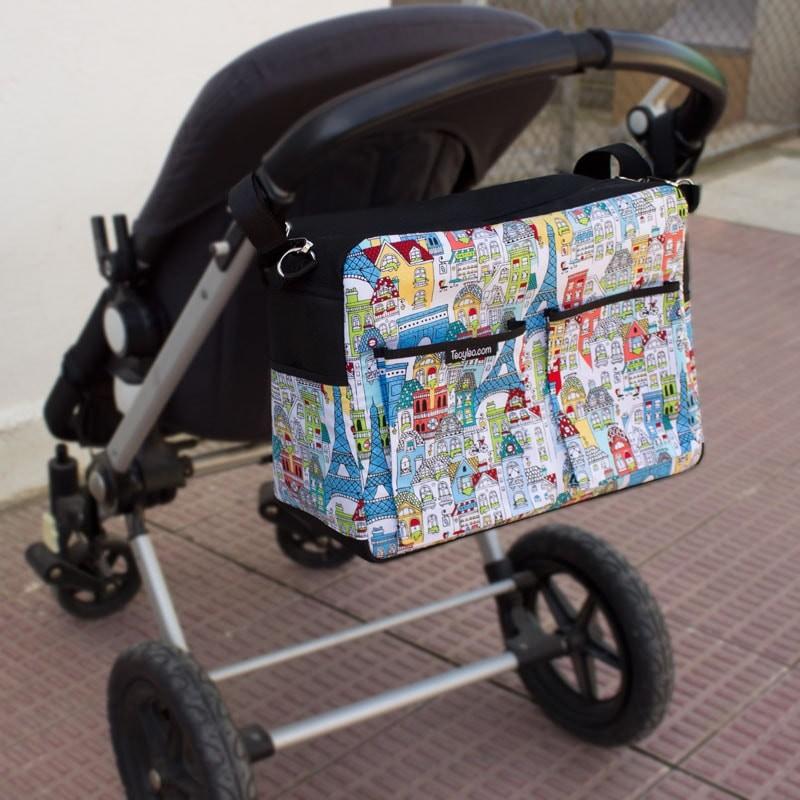 Bolso Carro Beb 233 Con Tu Tela Estampada Favorita