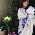 Bandolera anillas bebe beige 2