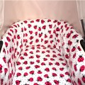 Bassinet cover for Bugaboo Donkey - choose the fabric