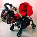 Bolso bugaboo bee Rose tatoo