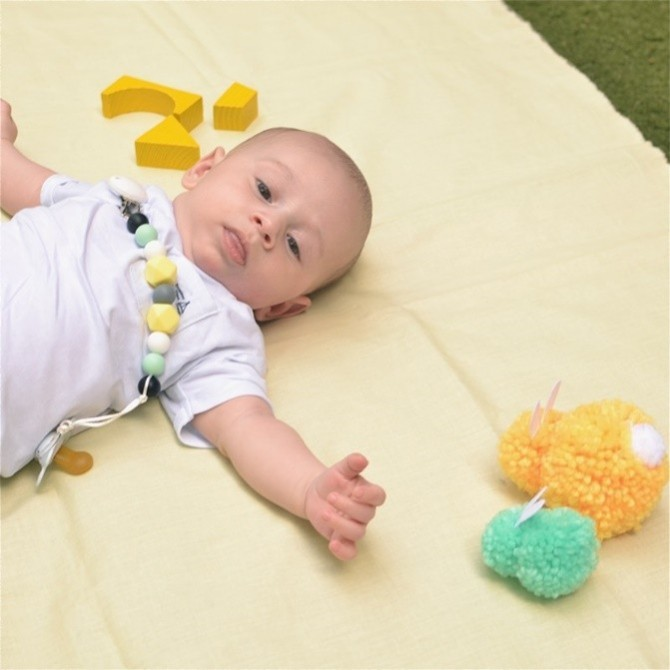 Sujeta chupetes Buenos aires de Mamibb bebé