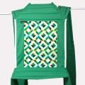 Mei tai portabebes geo pop emerald