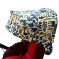 Capote pour Jane Muum - zoo bleu