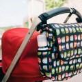 Bolso carrito con solapa Buhos negro MYbags