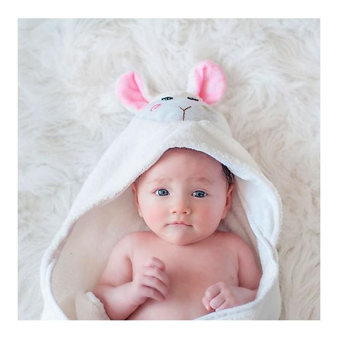 Baby bath wrap Lamb