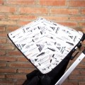 Canopy for Bugaboo stroller - feathers and teepees