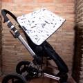 Capota silla Bugaboo - plumas y tipis