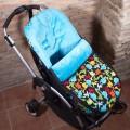Saco universal para silla bebe - dinosaurios