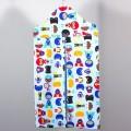 Bolsa guarda pañales vertical - superheroes azul