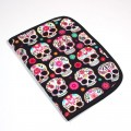 Baby documents pouch - skulls