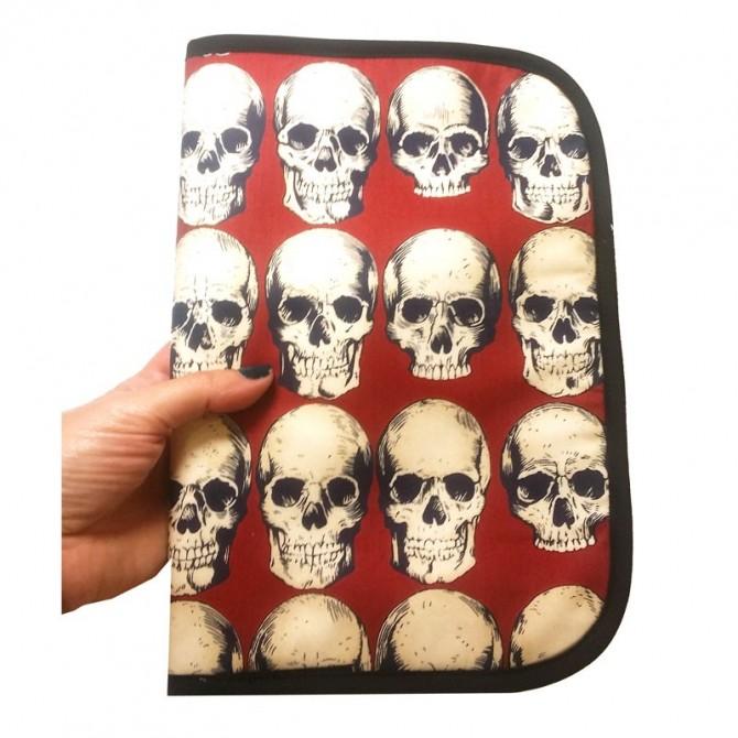 Portadocumentos bebe - rad skull