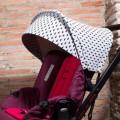 Canopy for Jane Muum - gray rays