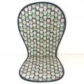 Colchoneta verano silla paseo universal calaveras gris