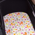Cotton sheet for Bugaboo Camaleon - accorn forest