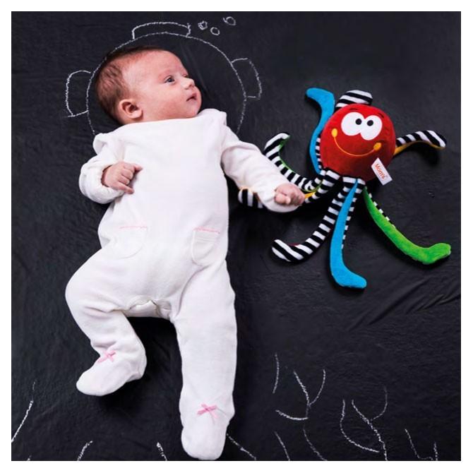 Juguete para bebé Pulpo piernas largas