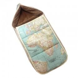 Saco para cuco universal - mapa mundi