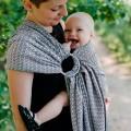 Porte-bébé ring sling Lovely Slate