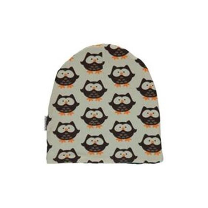 Baby beanie owls by Maxomorra