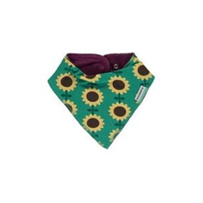 Bavoir bandana Sunflowers par Maxomorra