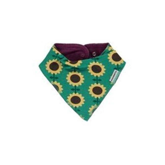 Dribble bib Sunflowers by Maxomorra