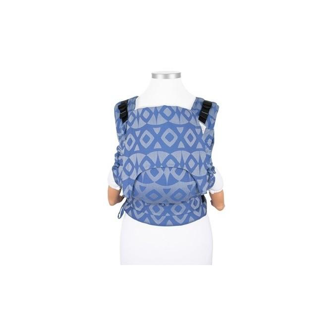 Ergonomic baby carrier fidella fusion baby Night Owl Blue