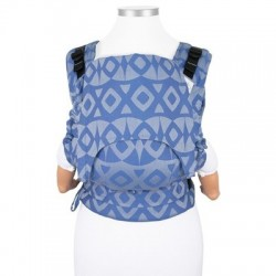 Ergonomic baby carrier fidella fusion baby Night Owl Blue