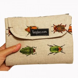 Tapis à langer de voyage - beetles