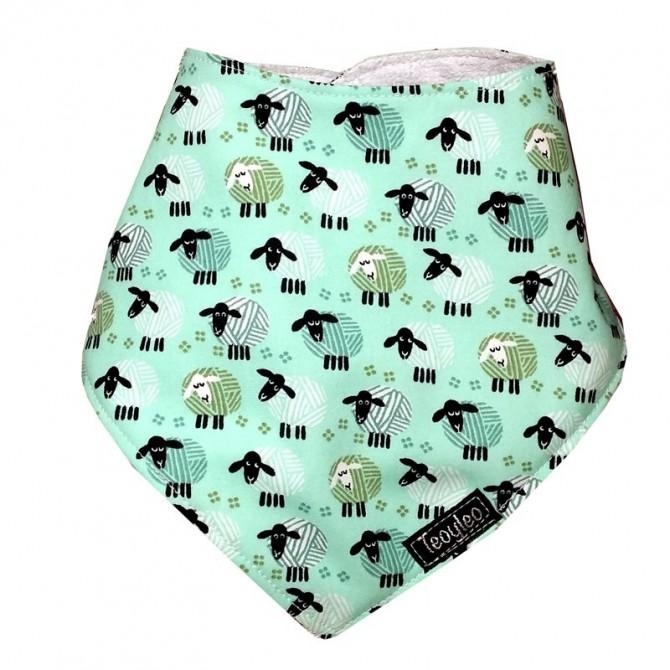Bib for babies - sheep