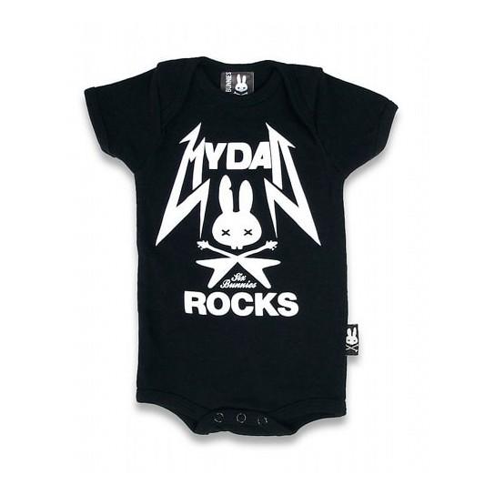 115dc0e1a Bebé rockero  articulos rockeros para tu bebé - Teoyleo