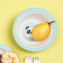 Miko the panda bamboo bowl