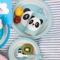 Vaso de bambú Miko el panda vajilla