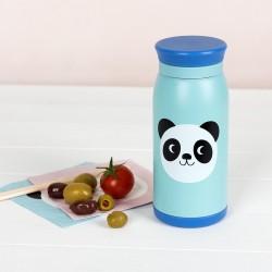 Botella de acero Miko el Panda merienda