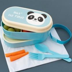 Caja bento Miko el panda merienda