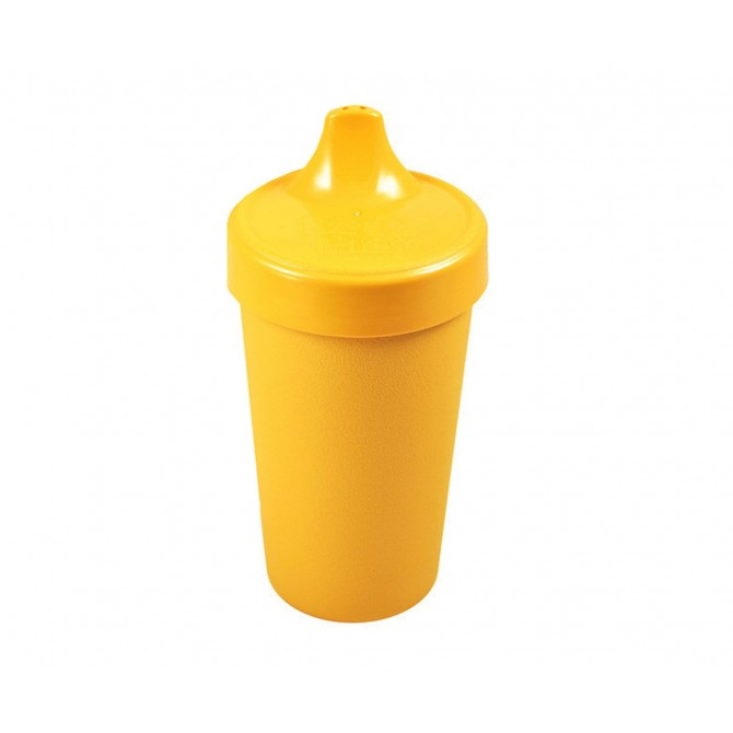 Sunny yellow No-Spill Sippy Cup Re-play