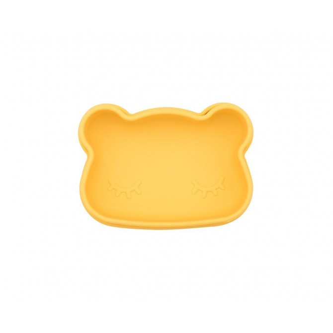 Caja de almuerzo Snakie Oso amarillo cerrada