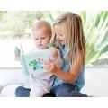 niños Caja regalo cepillo bebé + cuento Chomps El Dino