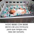 Nido bebé - mariquitas