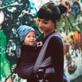 Baby woven wrap Obsidian bebé