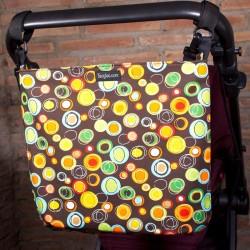 Baby strollerbag Minimalbaby - atomic circles