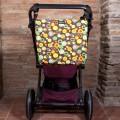 Bolso silla paraguas Minimalbaby - átomos marrón
