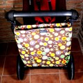 Bolsa silla paraguas Minimalbaby - átomos marrón