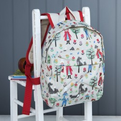 Little red riding hood mini backpack