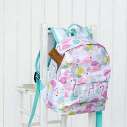 Flamingos mini backpack