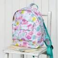Flamingos mini backpack