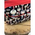 Bolso carro gemelar Kokeshi detalle