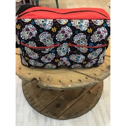 Twins diaper bag Folk skull