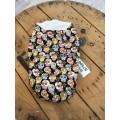 Baby cozy sac Mini skulls black