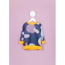 Girl Violet Dots sweter