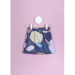 Girl Violet Dots skirt